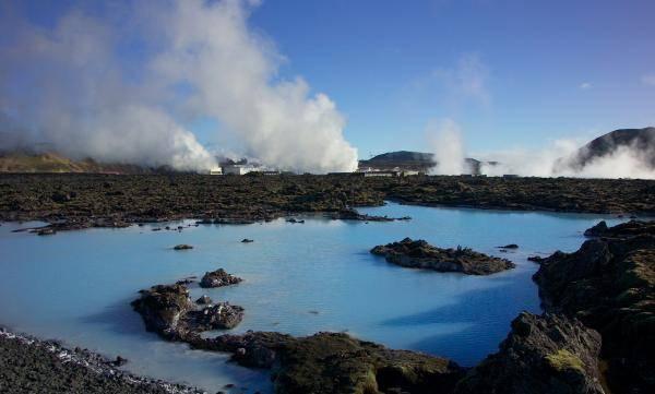 Modra laguna bláa lónið – blue lagoon