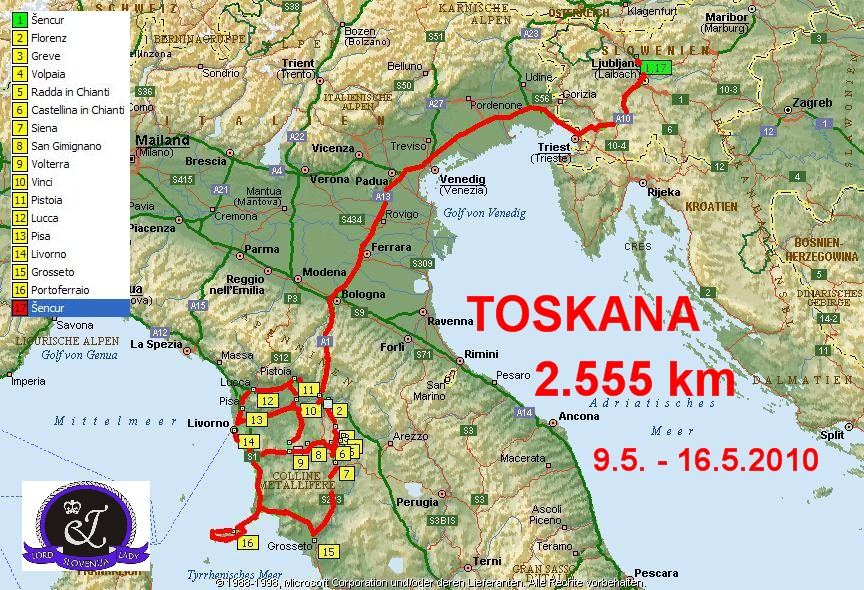 toskana italija mapa Untitled Document toskana italija mapa